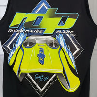 Men's RDP Daytona Tank - Black
