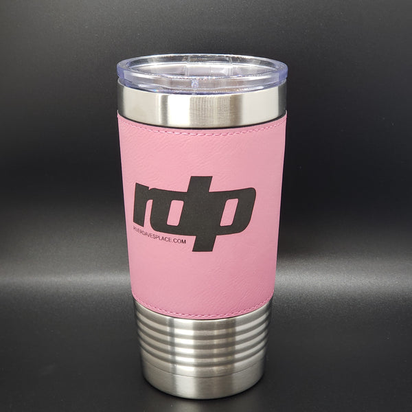The RDP Insulated Leatherette Tumbler - 20 oz.