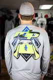 Men's RDP Daytona Rash Guard - Long Sleeve Grey