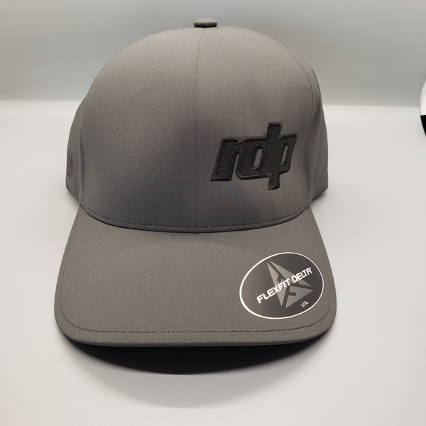 Men's Charcoal Flexfit Delta 'RDP' Hat (L/XL)