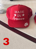 RDP Patriotic hats