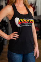 Women's Outboard Church Tank (Black)