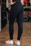 The RDP Ladies Yoga Pant/Leggings - Black