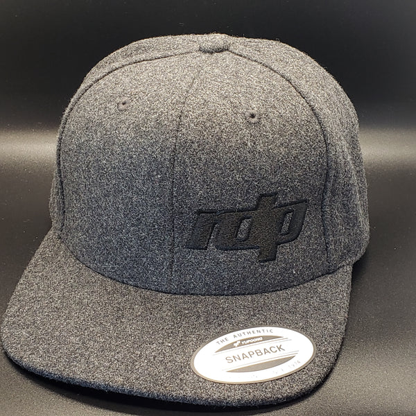 The RDP Snapback - Charcoal