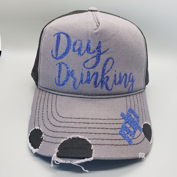 'Day Drinking' Women's Snapback Non-Bling Hats