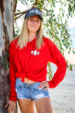M.B.G.A. (Unisex) Red Long Sleeve