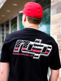 Men's RDP Thin Red Line T-Shirt - Black