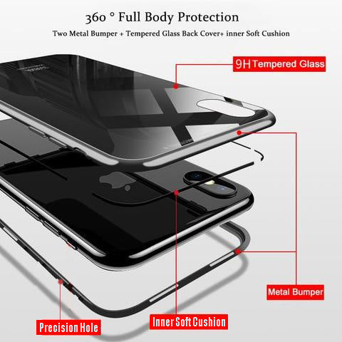 new product f12d1 1e046 Magnetic Absorption Phone Case