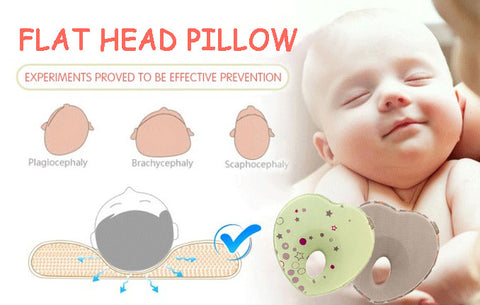 Prevent Plagiocephaly For And Baby Pillow For Flat Head Syndrome Prevention