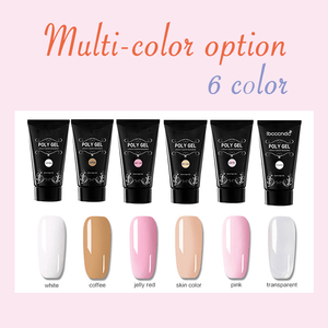 Quick Building Poly gel nail set