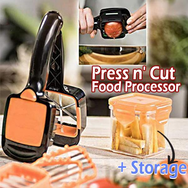 Press n' Cut Food Processor