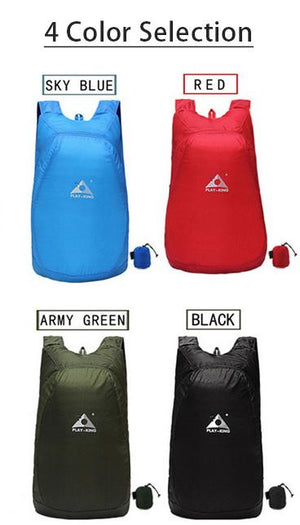 Outdoor Ultralight Portable Backpack