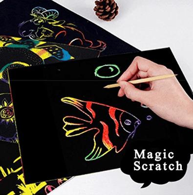 Magic Art Scratch Book