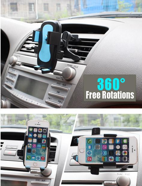 Universal 360° Rotating Car Mount