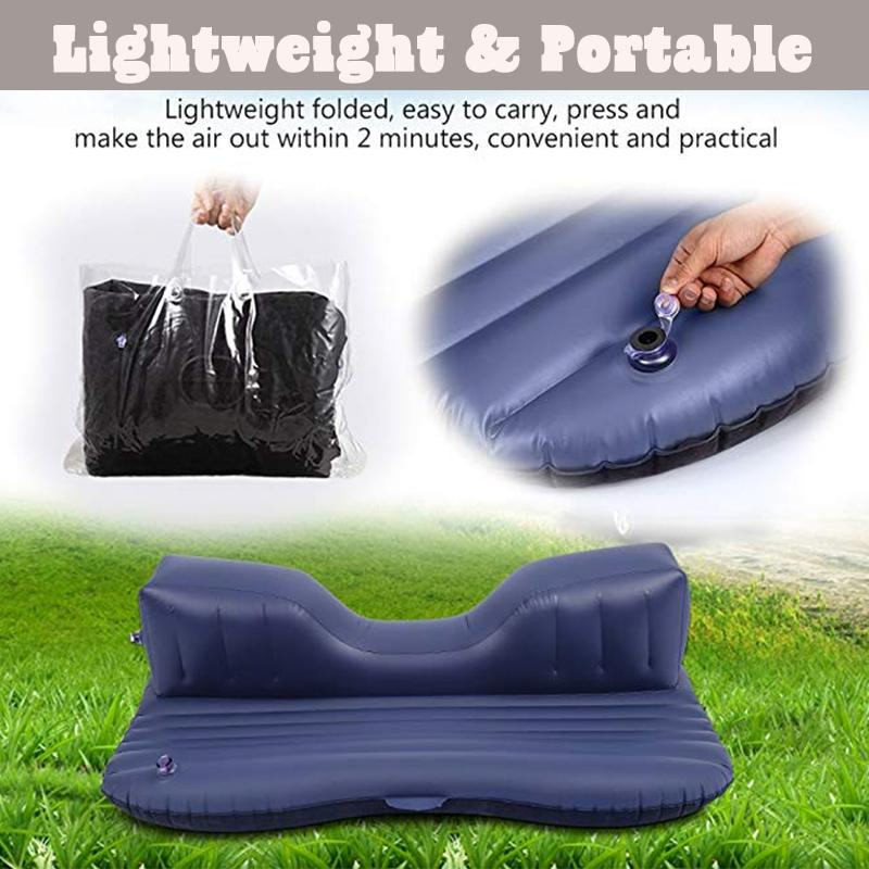 Memory Foam Inflatable Car Bed