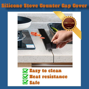 Silicone Stove Counter Gap Cover(2 pcs)