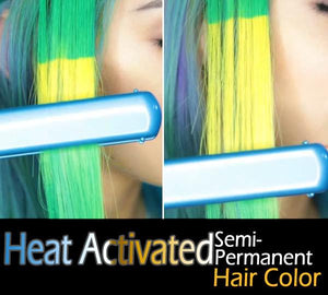 Heat Activated Semi-Permanent Hair Color