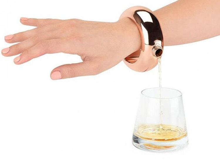 Fashion Bracelet Flask