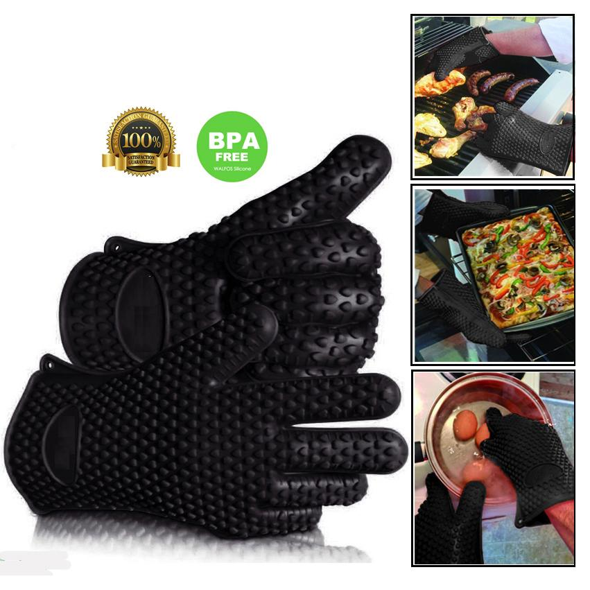 Silicone Heat-Resistant Glove