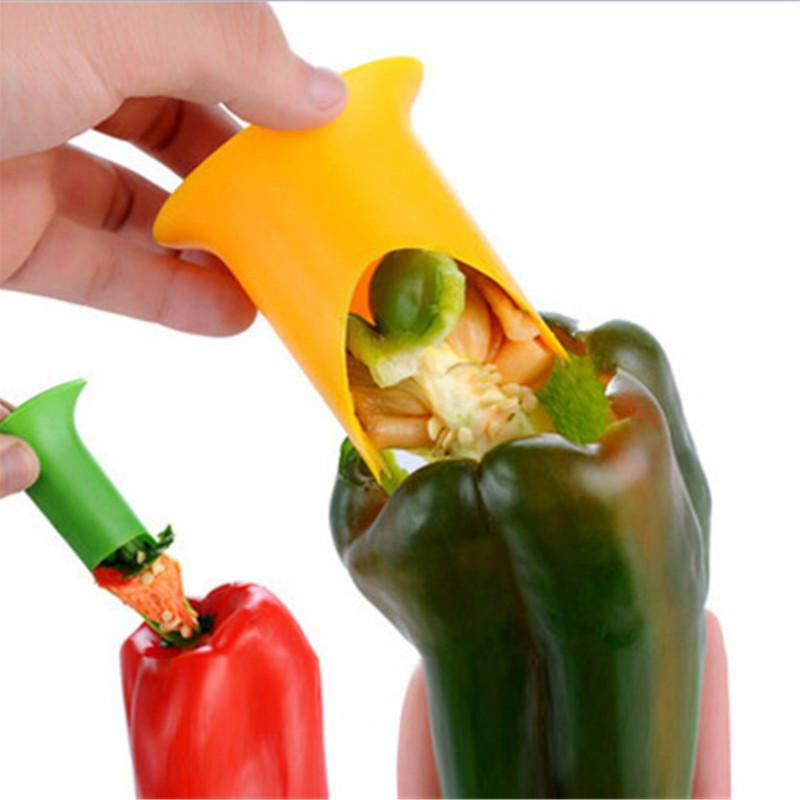 Creative Pepper Corer 2pcs/set