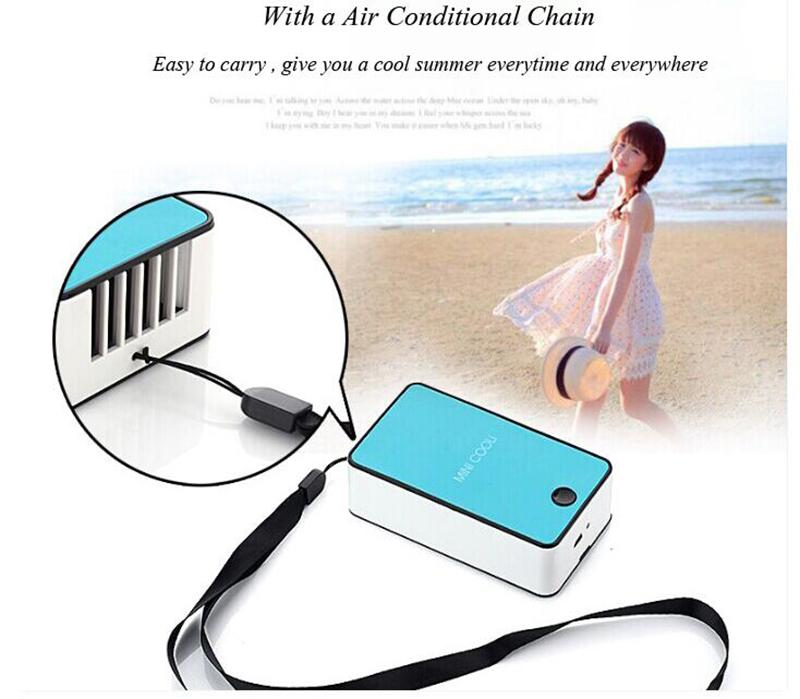 Mini Rechargeable Air Conditioner