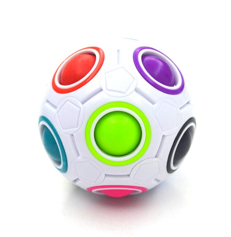 Strange-shape Magic Cube Fidget Toy Desk Toy Anti Stress Rainbow Ball  Puzzles Stress Reliever