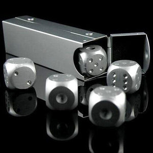 Premium Collection Gold and Silver Dice