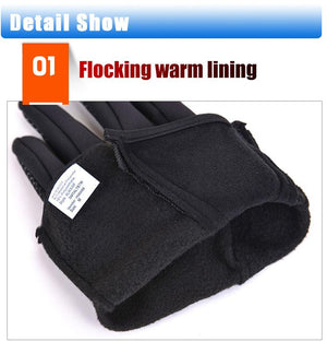 Wind+Water-proof Outdoor Touchscreen Gloves