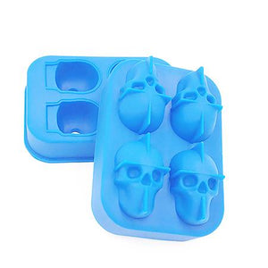 Crystal Skull Ice Cube Mold