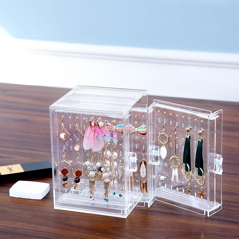 Transparent Earring Display Stand