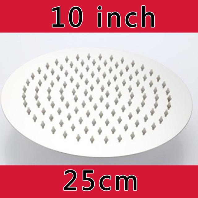Oversize Natural Rain Shower Head