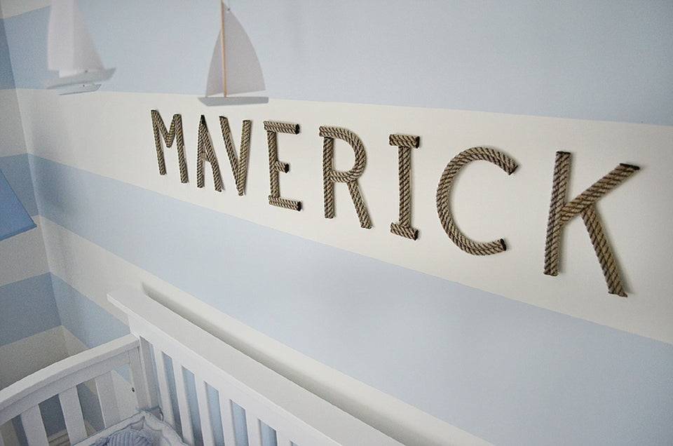 Personalized Baby Name Nursery Art
