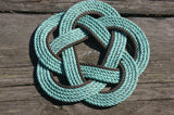 "13"" Rope Trivet-5 Star Knot-2 color"