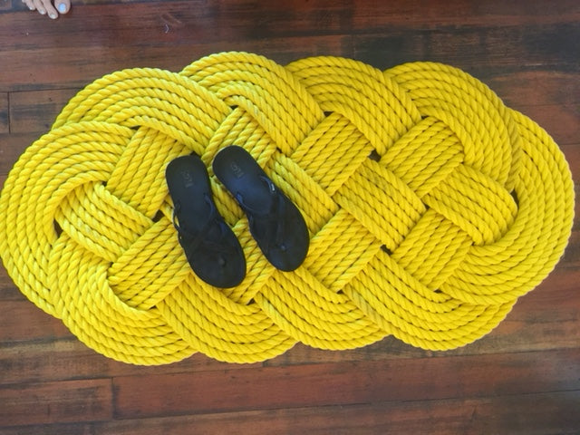 Yellow Door Mat 47