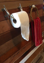 Rope Toilet Paper Holder & Towel Ring