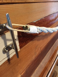 Rope Towel Rack & T.P. Holder Matching Set