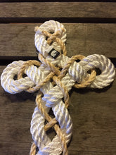 back of knotted cross