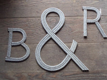 10 Inch Rope Letter / Number MADE TO ORDER - Alaska Rug Company