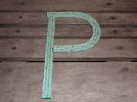 10 Inch Rope Letter / Number MADE TO ORDER