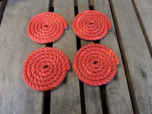 Set of 4 Coasters 1 Color (Choose Color) - Alaska Rug Company