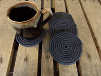 Set of 4 Coasters 1 Color (Choose Color)