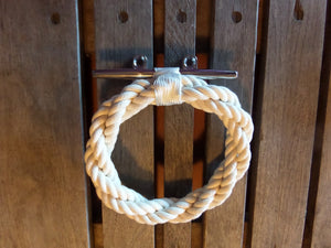 Cotton Rope Towel Ring Rack - Alaska Rug Company