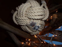 Rope Basket with Handle with 3 Accents - Alaska Rug Company