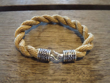 Goldish-Tan Rope Bracelet