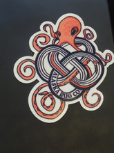 Octopus in Knot Sticker