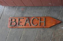 BEACH sign- Choose Direction