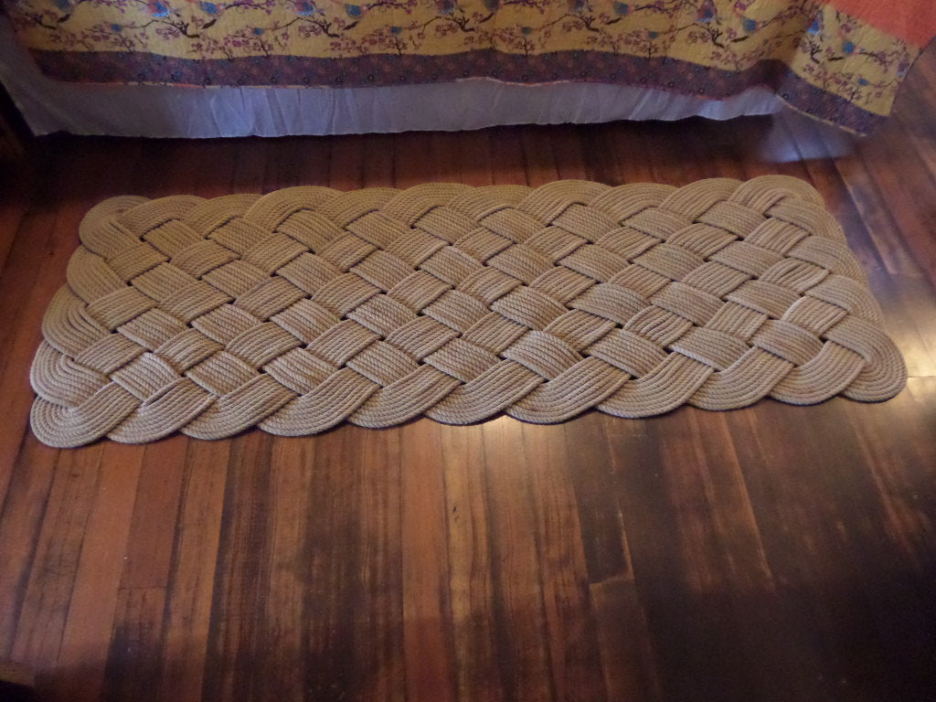 Large Soft Runner Rope Rug 72