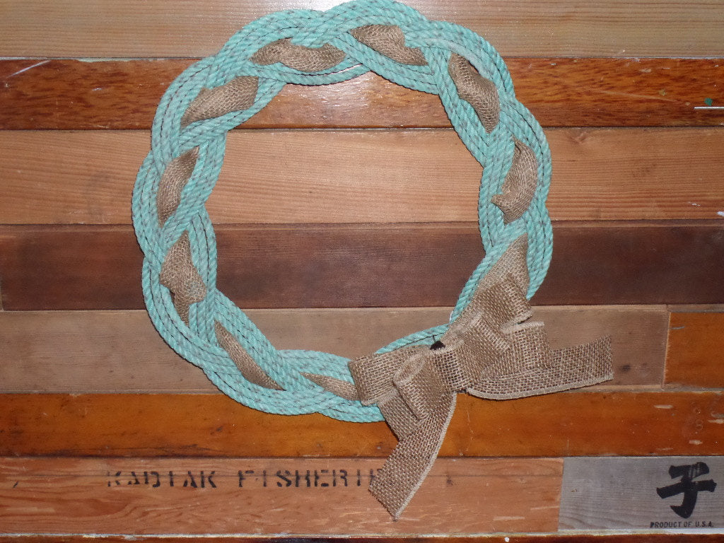 Rope Wreath 16