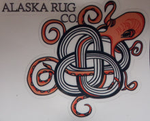 Octopus in Knot Sticker - Alaska Rug Company