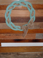 "Rope Wreath 16"" Recycled Rope"